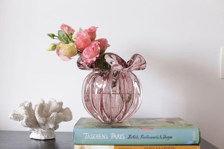 vaso de murano para a decoração