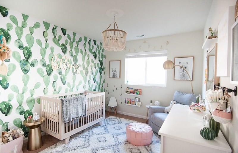 Temas para quartos de bebe lhamas