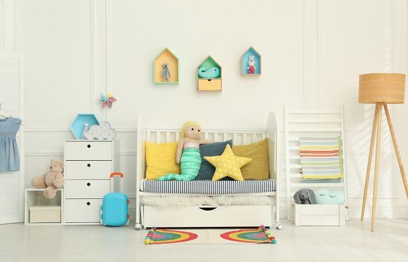 temas para quartos de bebê serieia